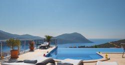 Luxury Five Bedroom Villa With Spectacular View For Sale in Kalkan