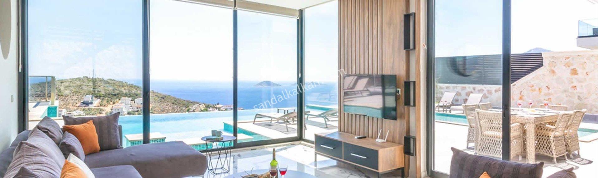 Luxury villas for sale in Kalkan
