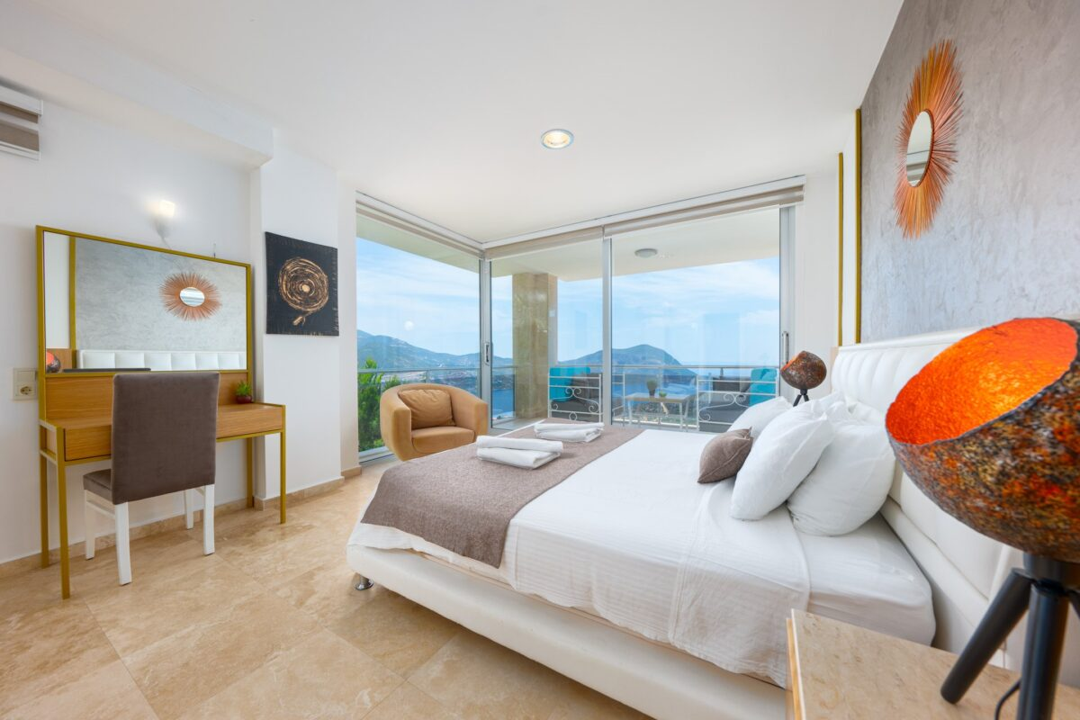 Luxury Six Bedroom Villa with Spectacular View in Kalkan
