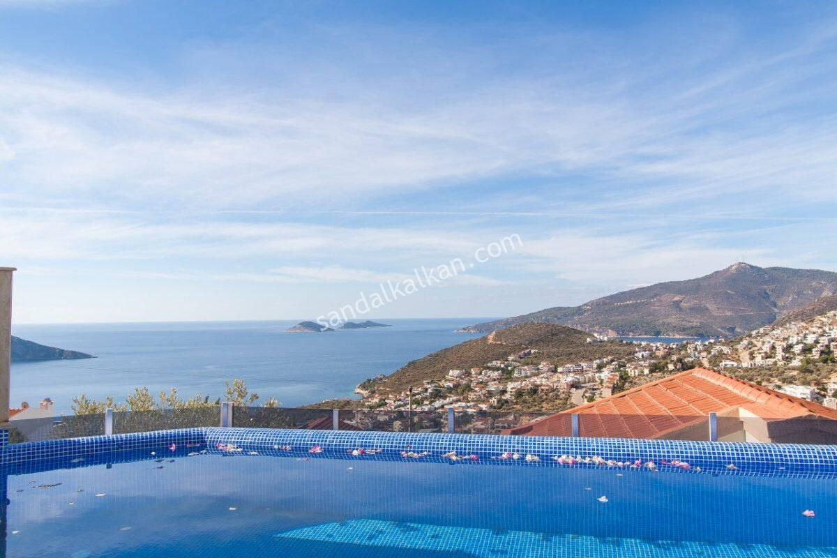 Luxury Four Bedroom Villa in Kalkan, Kızıltas