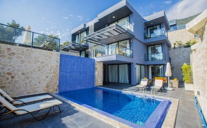 Luxury Five Bedroom Villa in Kalkan, Kızıltas