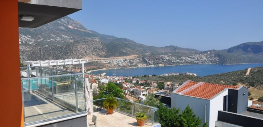 Two Bedroom Dublex Apartment For Sale in Kalkan