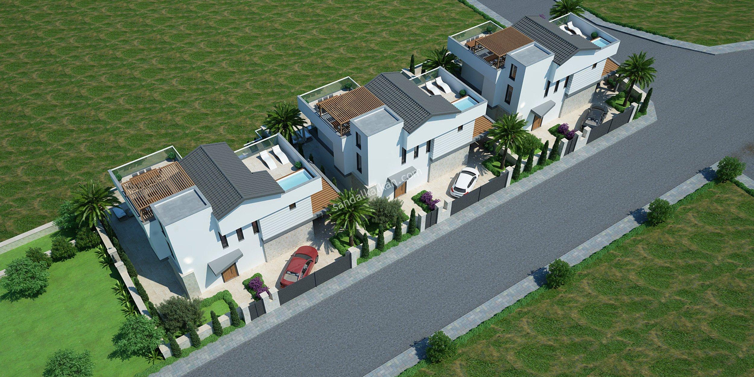 New! Off-Plan Luxury Villas for sale in Kalkan