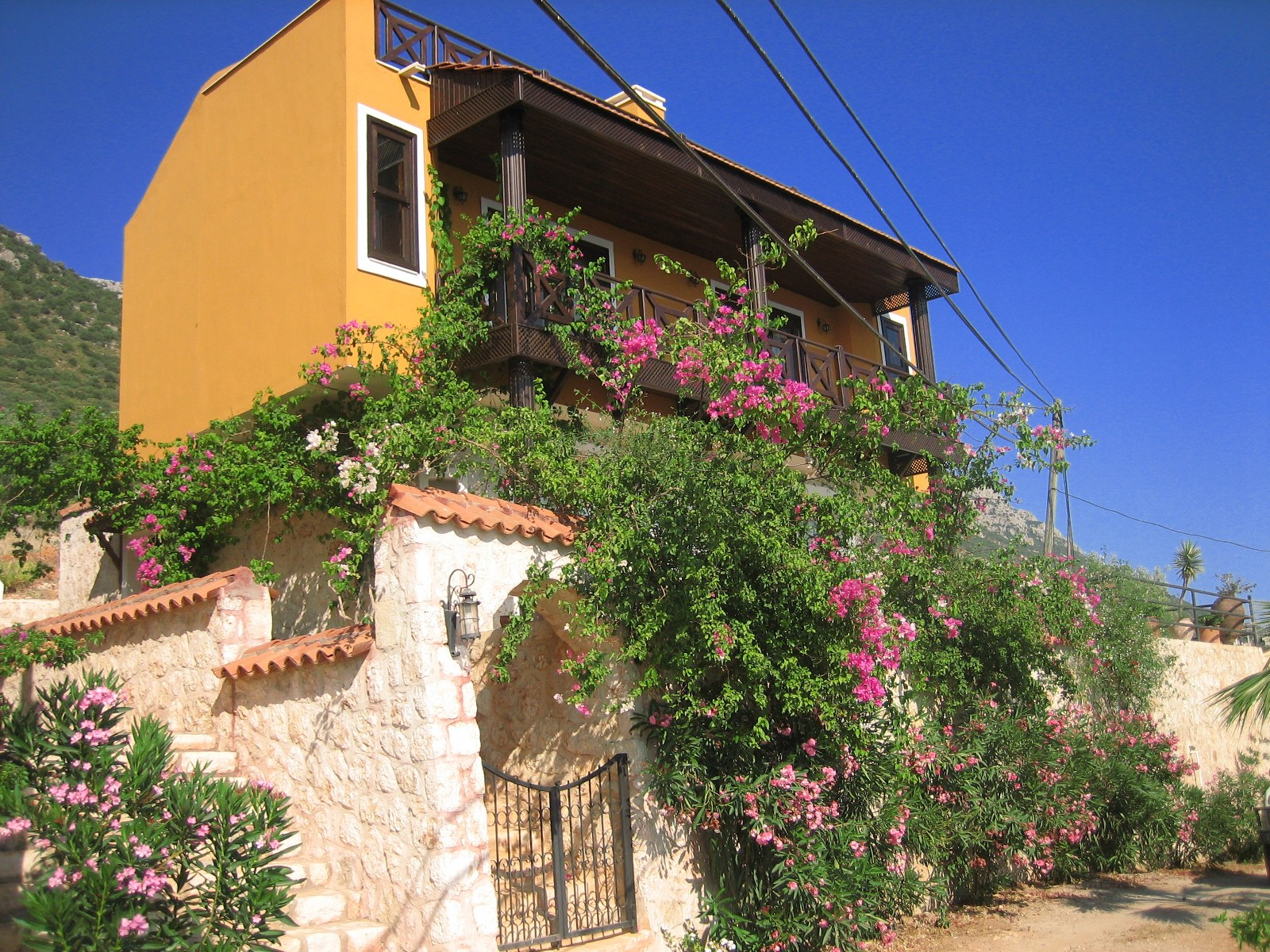 Two Bedroom Villa With Fabolous view in Kalkan-Kördere for sale