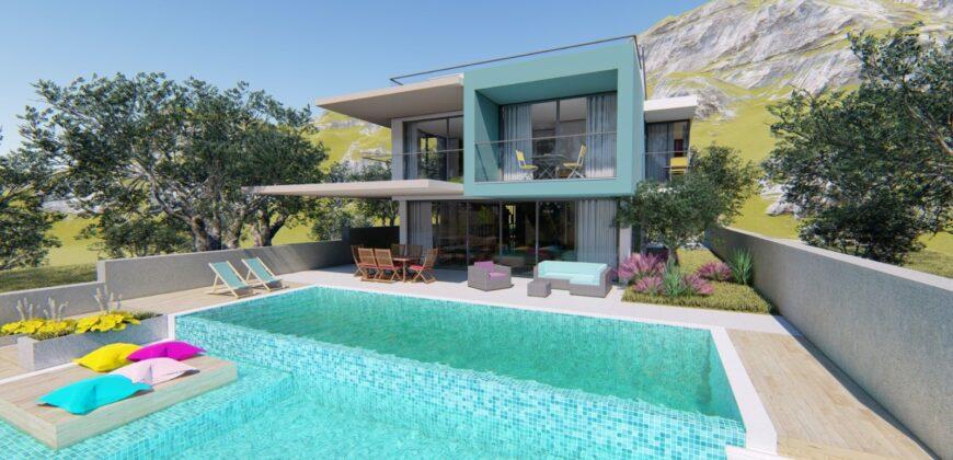 New! Off-Plan Luxury Semi Detached Three Bedroom Villas for sale in Kalkan