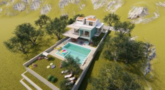 New! Off-Plan Luxury Four and Three Bedroom Villas for Sale in Kalkan