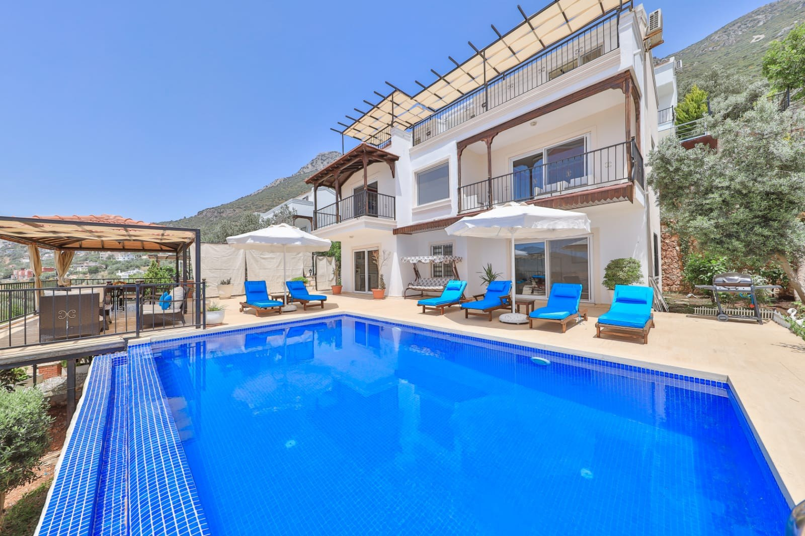 Three Bedroom Villa with Fabulous view in Kalkan for sale
