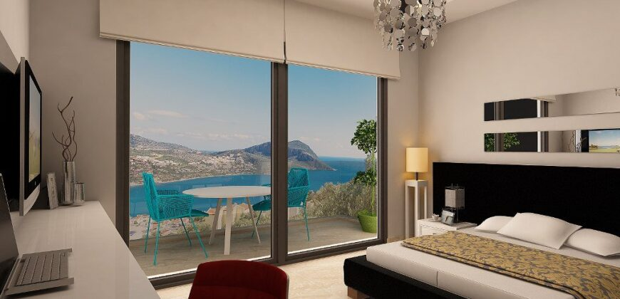 New! Off-Plan Luxury Apartments for sale in Kalkan