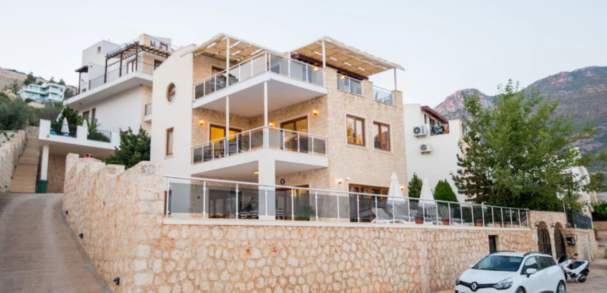 Luxury Four Bedroom Villa in Kalkan for Sale